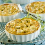 QUICHE POULET CURRY