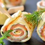 Wrap fromage saumon aneth1
