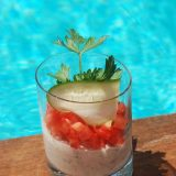 Verrine mousse thontomates